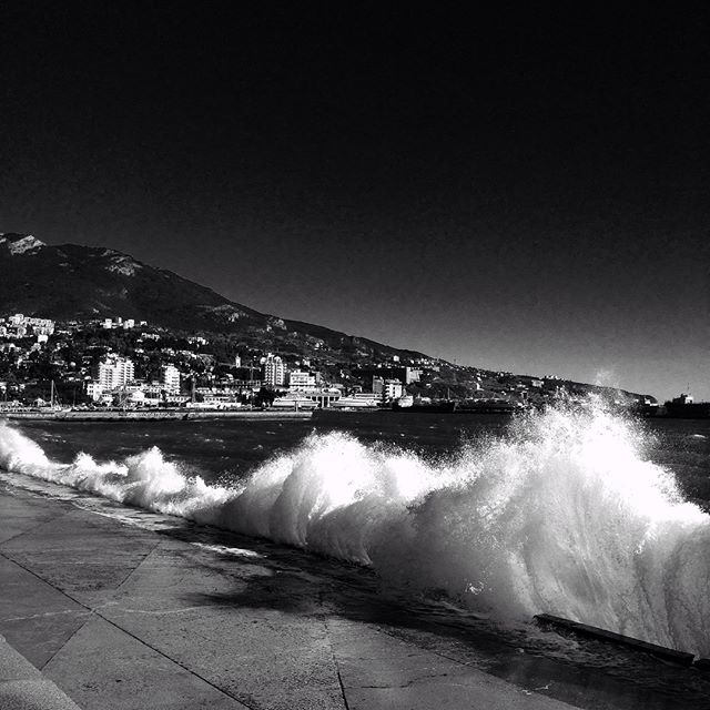 Yalta, Crimea, 2013 (waves)